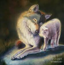 the wolf and the lamb.jpg